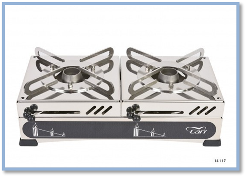 Bonetti Campers FN two-burner stove