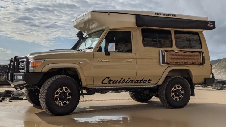 Pop Top Camper 4WD